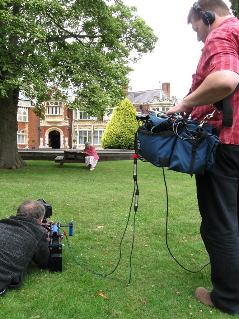 Filming CODEBREAKER