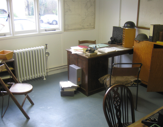 Office at Bletchley Park